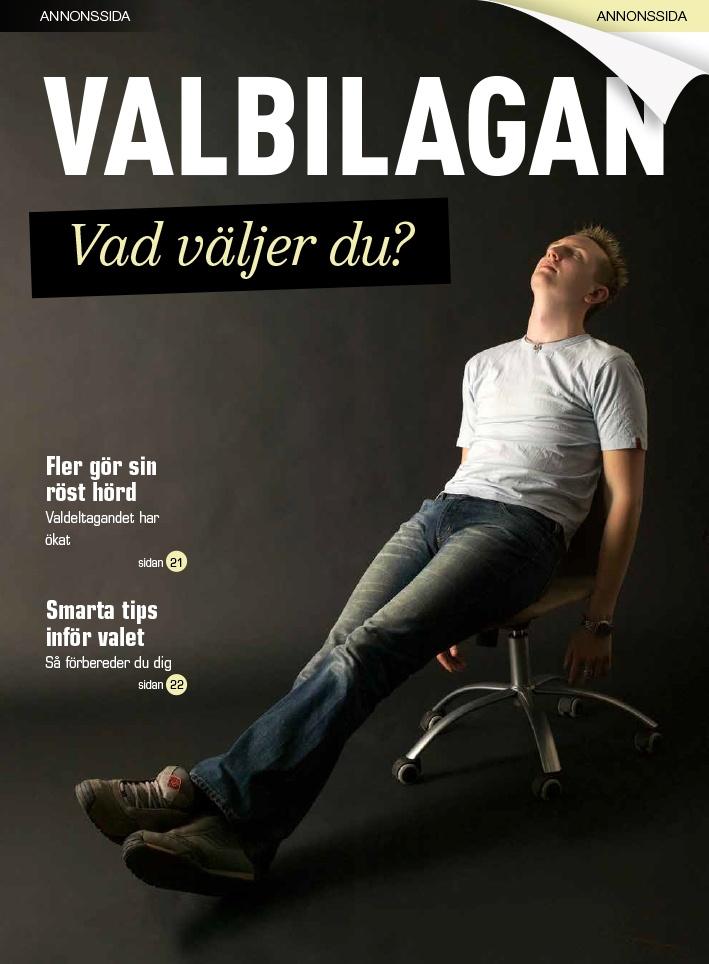Portfolio Annonssida - Valbilagan