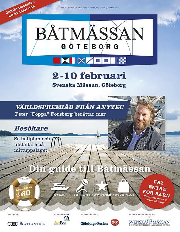 Portfolio Annonsbilaga - Båtmässan - Din guide