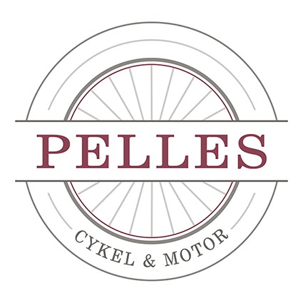 Logotyp -  Pelles Cykel & Motor